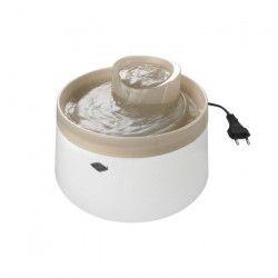 EBI Fontaine a eau Cascade - 1,5L - 22 x 22 x 15cm - Mocca