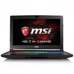 MSI PC Portable GT62VR 7RD-268FR - 15,6` Full HD - RAM 16 Go - Core Kabylake i7-7700HQ - Stockage 128 Go SSD - GTX