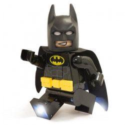 LEGO Batman Movie Lampe Torche Batman - Pieds lumineux - Eclairage multidirectionnelle - Arret automatique - 14,6 X