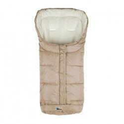 ALTABEBE Chanceliere hiver pour poussette - Beige/ Blanc