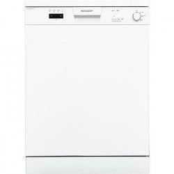 SHARP QW-C12F471W-fr - Lave vaisselle posable - 12 couverts - 47 dB - A+ - Larg 60cm