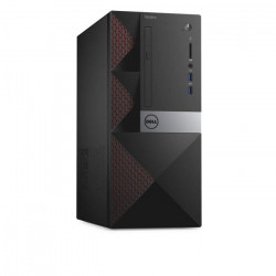 Dell Vostro 3668 - MT -PC de bureau-RAM 4 GO- 1 x Pentium G4560 / 3.5 GHz-HDD 500 Go-HD Graphics 610