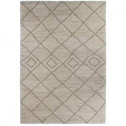 NIZZA Tapis de salon 120x170 cm beige