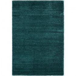 NIZZA Tapis de salon 160x230 cm bleu