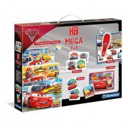 CLEMENTONI Edukit Mega 7 en 1 Cars 3