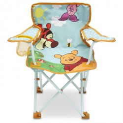 DELTA CHILDREN WINNIE L'OURSON chaise pliable et transportable camping enfant