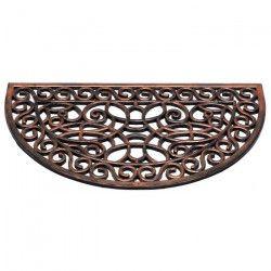 Paillasson a motifs - 45x75 cm - Style Classique - Coloris cuivre