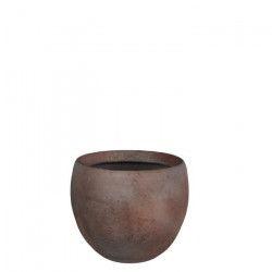 MICA Lot de 2 Cache-pots ronds Vera terra