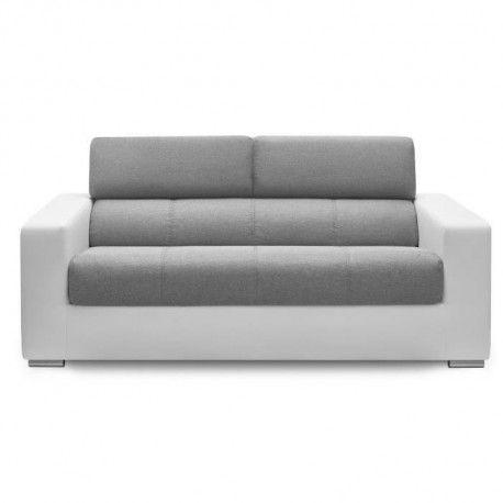 olivia canap droit convertible 3 places simili et. Black Bedroom Furniture Sets. Home Design Ideas