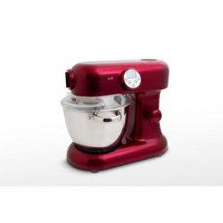 KITCHENCOOK MIXANDHOT Robot cuiseur - 1000W - 12 vitesses - Rouge