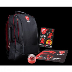 MSI Gaming Pack GS : Sac a dos + souris + tapis souris gaming / Goodies MSI Dragon Lucky