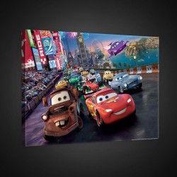 CARS Tableau déco sur toile enfant 60x40cm cdt