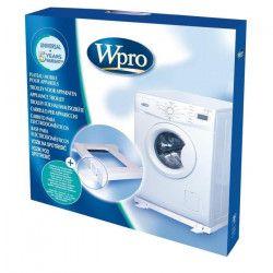 Wpro TROLO1 Support mobile, universel, et anti-vibration pour électroménager