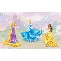 Toile LED Princess enfant 30x50 cm rose