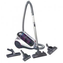 HOOVER RE71_RX01Aspirateur traîneau sans sac Multibrosses - 700W - 87 dB - A - Blanc et violet
