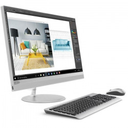 LENOVO PC Tout en un AIO 520-24IKL - 23,8` Full HD - RAM 8 Go - Intel core I3-7100T - Stockage de 1 To + 16 Go