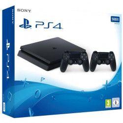 Pack Nouvelle PS4 500 Go + 2eme Manette DualShock 4 + Qui es-tu ? (jeu PlayLink a télécharger)