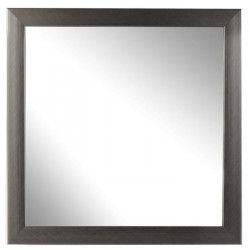IMAGINE Miroir 30 x 30 cm métallisé Acier