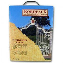 Vin de Bordeaux AOC - Rouge - Bib 5 L
