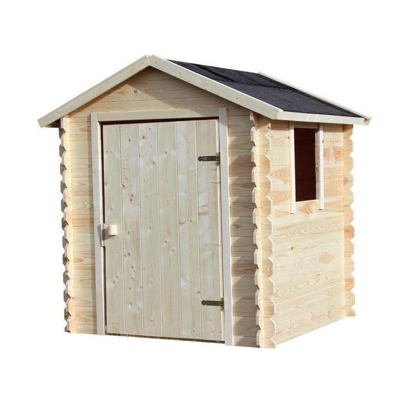 soulet maison enfant cabane en bois emeline 140 x 125 x. Black Bedroom Furniture Sets. Home Design Ideas