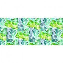 CORYL Nappe Lautrec - Ø 160 cm - Vert & bleu - Motifs jungle
