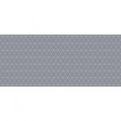 CORYL Nappe Lautrec ovale - 160x240 cm - Taupe - Motifs géométriques