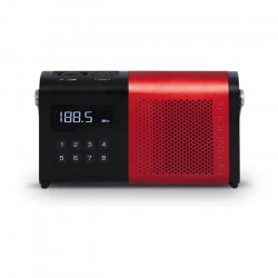 SCHNEIDER SC170ACLRED Radio Tuner Digital Pll AM/FM Movimo - Rouge