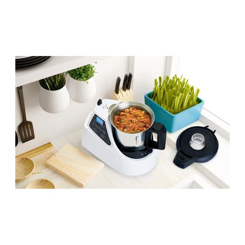 recettes robot cuiseur multifonction table de cuisine. Black Bedroom Furniture Sets. Home Design Ideas