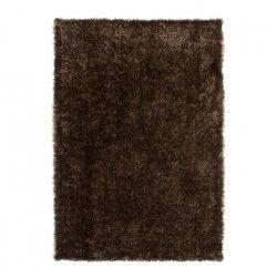 CRYSTAL Tapis de salon Shaggy 80x150 cm caramel