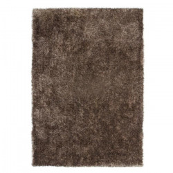 CRYSTAL Tapis de salon Shaggy 80x150 cm taupe