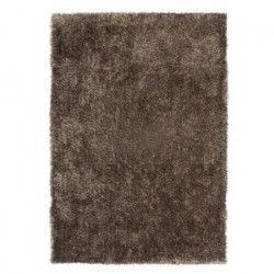 CRYSTAL Tapis de salon Shaggy 160x230 cm taupe