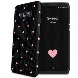 I-PAINT Coque Sweety pour Samsung Galaxy S8