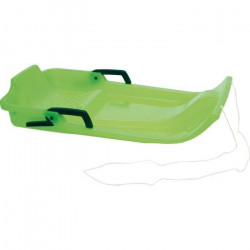 Luge en plastique 1 place - Vert