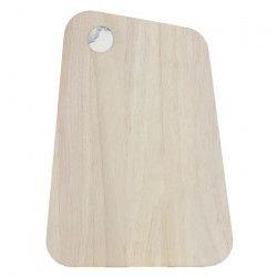 ECO DESIGN A1754 Planche a découper 22x30cm - Marbre Blanc