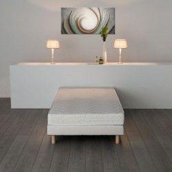 FINLANDEK UNELMA Matelas 90x190 cm 16 cm mousse mémoire de forme confort ferme 55 kg/m³