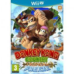 Donkey Kong Country: Tropical Freeze Jeu Wii U