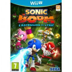 Sonic Boom : l`Ascension de Lyric Jeu Wii U