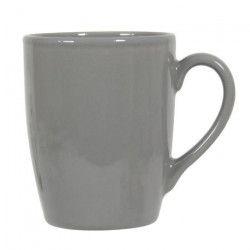 NOVASTYL Ibiza 8011755 Lot 6 Mugs 35cl - Gris - Faience