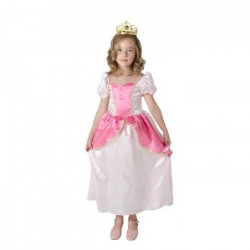 CESAR - F095 - Robe princesse Rose - 8 / 10 ans