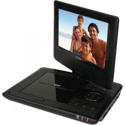 DJIX DJIXPVS90571H Lecteur DVD portable - Noir