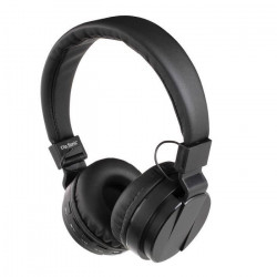 CLIPSONIC TES148N Casque compatible Bluetooth - Noir
