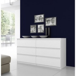 FINLANDEK Commode NATTI 154cm blanc