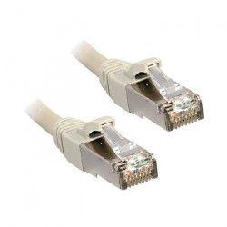LINDY Câble réseau en cuivre - 6A S/FTP - LSOH - 500MHz - 15 m - Gris