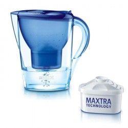 Carafe filtrante Marella Bleue 1 cartouche incluse