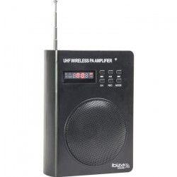 IBIZA SOUND PORT3-UHF Enceinte autonome compacte 40 w avec micro de tete uhf