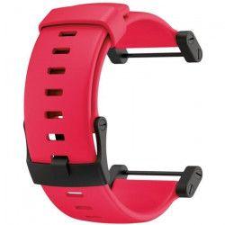 SUUNTO Bracelet de Montre Core Crush Red Flat Silicone Strap