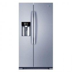 HAIER HRF665ISB2 - Réfrigérateur américain Total No Frost A+ Silver