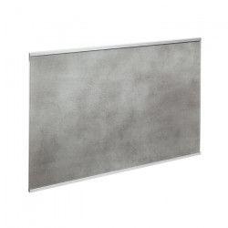 Crédence en verre de 5mm d`épaisseur style béton - Gris - 60x45cm