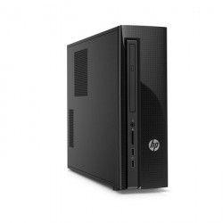 HP Slimline PC de bureau 450-a100nf-Noir-4Go de RAM-Windows 10-AMD Dual-Core E1-6015-AMD Radeon HD8240-Disque dur 1 To