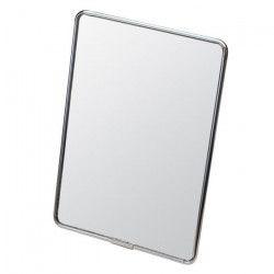 GERSON Miroir a poser - Chromé noir - 16,5 x 22,5 cm